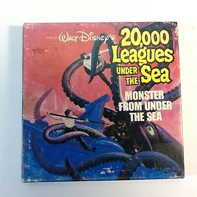 "Vintage 8mm Super 8 Disney Movie ""20,000 Leagues Under The Sea"""