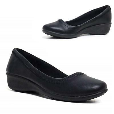 Ladies New Slip On Cushioned Hospital Nurse Shoes Women Comfy Work Boots Shoes