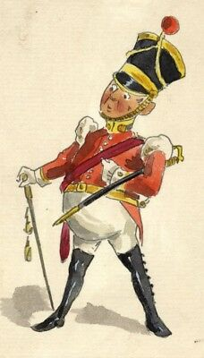 Pickford Robert Waller, British Soldier - Late 19th-century graphite drawing