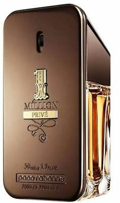 ONE MILLION Prive Perfume BY PACO RABANNE For Men 50 ML EDT 1.7 Oz Spray NIB