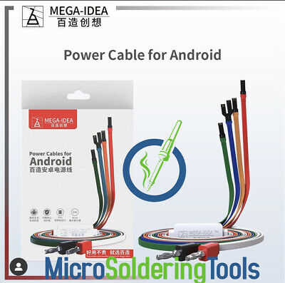 Android DC Power Supply  Cables For Samsung Galaxy Huawei ZTE Nokia