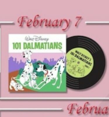 Disney Parks Pin Of The Month 101 Dalmatians Vintage Vinyl LE 3000 Pre Sale 2/7