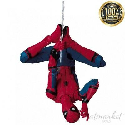 Medicom Toy Mafex Figurine Spider-Man Homecoming Anti Echelle Atbc-Pvc de Japon