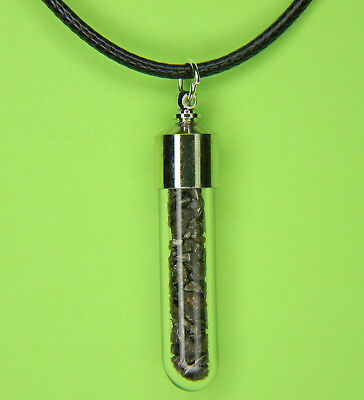 Nantan Genuine Iron-Nickel Meteorite Pendant Necklace Guangxi, China