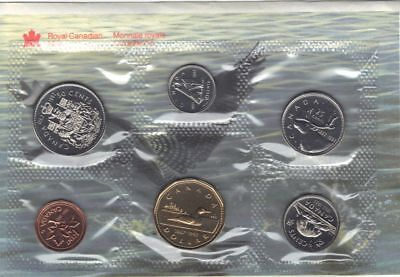 1992 Canadian  Proof like 6 coins nickel Set sealed with COA & envelope Original