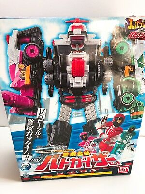 NEW Power Rangers Lupinranger VS Patoranger DX PATO KAISER Megazord Bandai Japan
