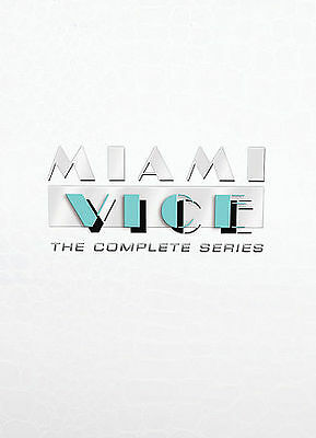 Miami Vice: The Complete Series (DVD, 2007, 27-Disc Set) Rare OOP