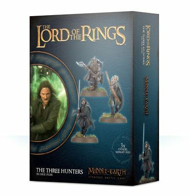 Warhammer The Three Hunters The Lord of the Rings plastic new