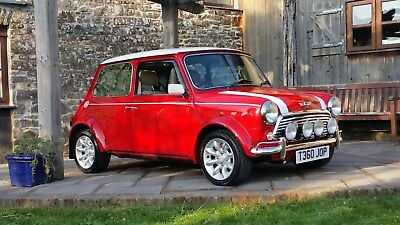 Classic Mini Cooper Sport On Just 6900 Miles From New With Cream Leather Seats!