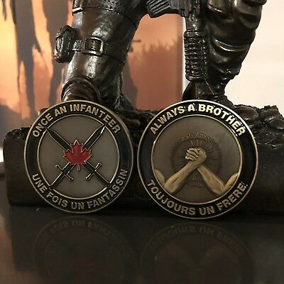 Canadian Infanteer Brother Challenge Coin