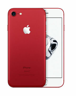 NEW Apple iPhone 7 128GB Red Factory Unlocked Smartphone With 1 Year Warranty