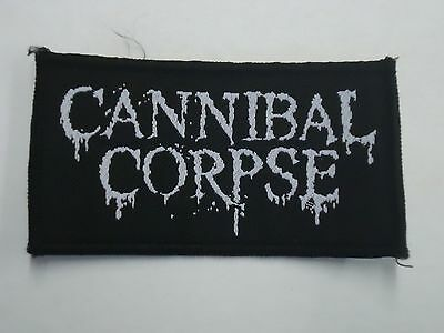 Cannibal Corpse Logo Woven Patch