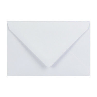 92x130mm White 100gsm Gummed Diamond Envelopes - Qty 100