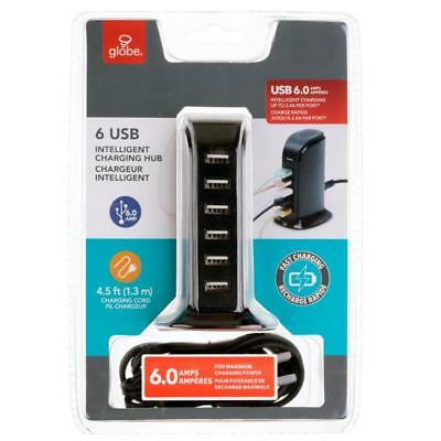 Globe Electric 1-Pack 6-USB Outlet Power Strip
