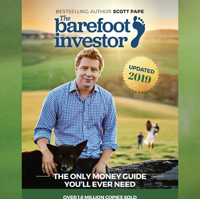 The Barefoot Investor by Scott Pape Updated 2019 Paperback Brand New FREE SHIP
