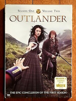 Outlander: Season 1, Vol. 2 (DVD, 2015, 2-Disc Set) *Brand New* Factory Sealed