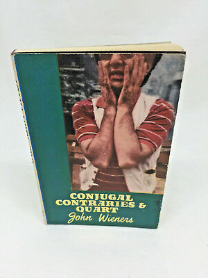 John Wieners Conjugal Contraries and Quart Hanuman Books No. 13 first edition 19