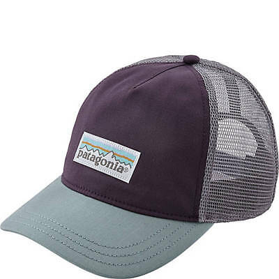 189e68af8f1 PATAGONIA Women s Pastel P-6 Label Layback Piton Purple Trucker Hat Snapback