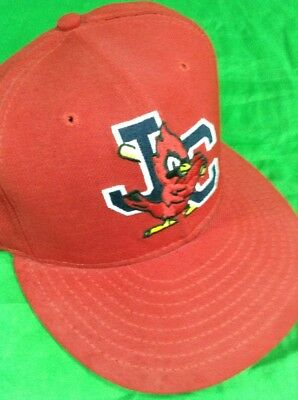 Johnson City Cardinals Hat MiLB Minor League Baseball New Era 7 1 4 Fitted  Cap 0bd0e249c41