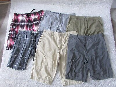 Bulk Lot Mens Shorts All Size W36 - Six Pairs
