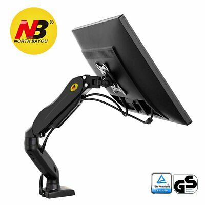 North Bayou Computer Screen Monitor Desk Mount Stand Full Motion Swivel Arm