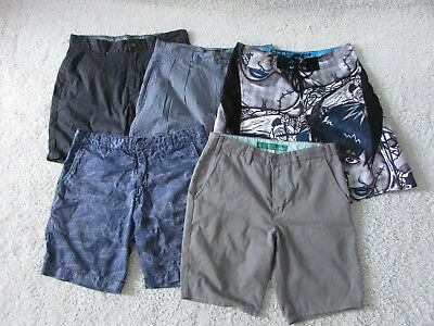 Bulk Lot Mens Shorts All Size W32 - Five Pairs
