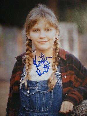 Authentic Very Young & Cute Photo  Actress Kirsten Dunst-Interview With Vampire