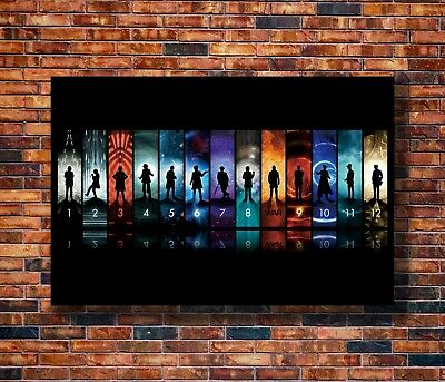 New Doctor Who BBC Space Travel Season8 TV Show Pop Poster 14x21 24x36 Art X-735