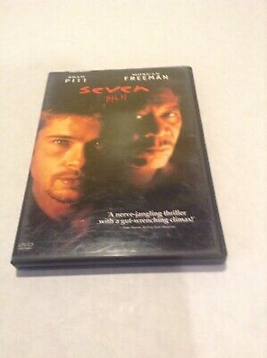 Seven (Single Disc Edition), Good DVD, Brad Pitt, Morgan Freeman, Gwyneth Paltro