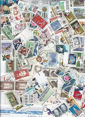 $10 face value--- all different postage stamps, wide variety  1c-110c MINT