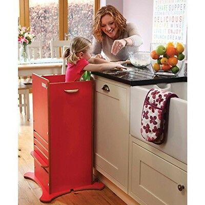 As new Little Helper Award Winning FunPod (Red) Toddler Kitchen Safety Stand