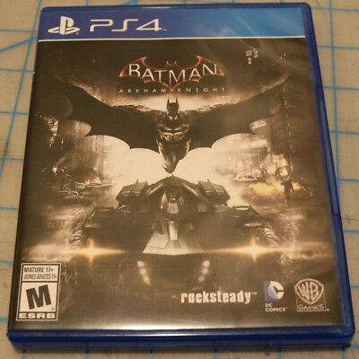 Batman: Arkham Knight (Sony PlayStation 4, 2015) - Mint condition!