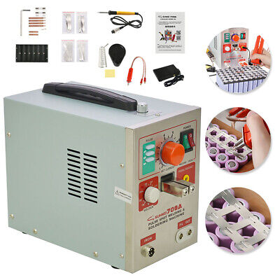 709A 2 in 1 60A 1.9kw Spot Welder Soldering Iron Staion Battery Welding Machine