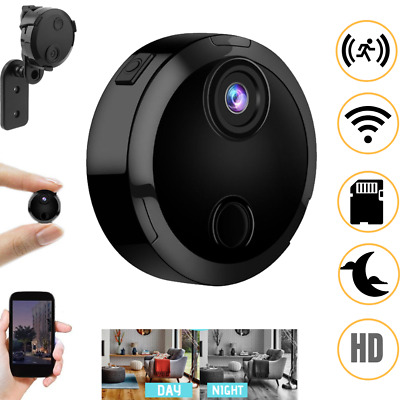 Mini HD 1080P Wifi Spy Camera Mini Hidden Camcorder Video Recorder Nanny IR Cam