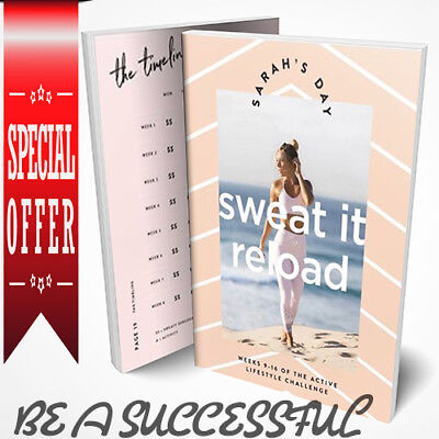 Sarah's day 💚Sweat it RELOAD 💚PDF 💪 INSTANT DELIVERY Special.