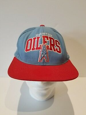 b9dd8442cce ... official store vintage houston oilers snapback adjustable hat nfl mitchell  ness cap a531e d8afd