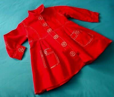 DRESS  child bambina MOSCHINO   age 3 -anni  Made in Italy New Rare