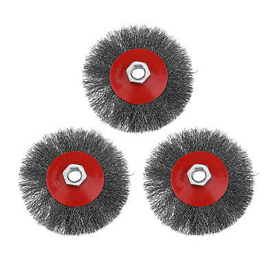 4.5 Inch M14 Thread 14Thr Twist Knot Wheel Brush Cup for Angle Grinder Powers