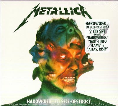 METALLICA - Hardwired to self-destruct 2 CD 2016 SIGILLATO SEALED