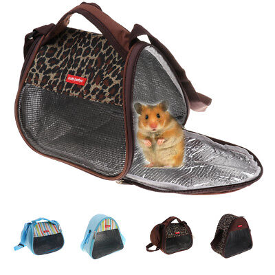 Small Pet Rat Hamster Mouse Chinchilla Carrier Travel Bag Hanging Packet