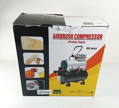 Airbrush Depot TC 20T Tank Compressor With Water Trap Pickup Only