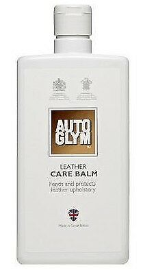 Autoglym Leather Care Balm Feeds & Protects Leather Upholstery 500ml AGLCB