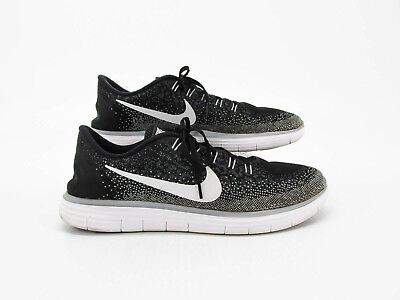 4a4cfa1cf946e Nike Free RN Distance Men Black Athletic Running Shoes Size 12M Pre Owned JJ