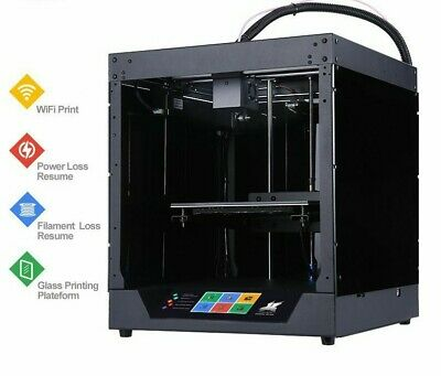 3D Printer Full Metal Frame High Precision Kit Imprimante Impresora Glass WIFI