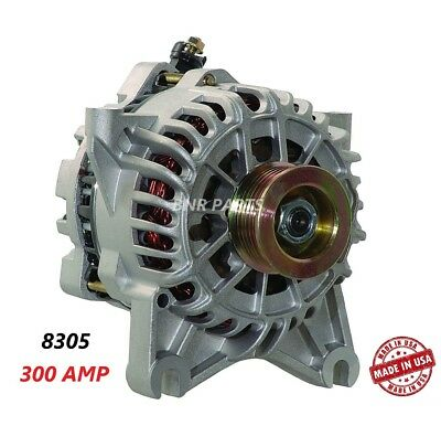 300 AMP 8305 Alternator Ford Expedition Lincoln Navigator High Output HD NEW