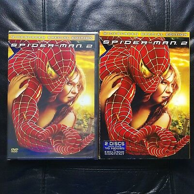 Spider-Man 2 DVD, 2004, 2-Disc, Special Edition Widescreen NEW! w/ Slipcover