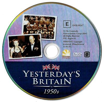 Yesterday's Britain: The 50s (DISC ONLY) DVD Documentary