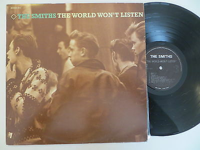 The Smiths World Won't Listen Israeli Promo LP + Inserts