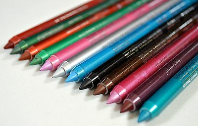 Lip/Eyeliner Pencils Pack Of 10 Different Colours, wholesale, job lot,