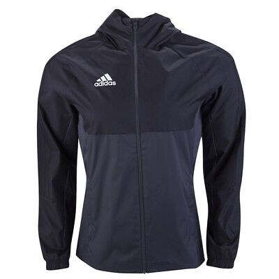 adidas Men's Tiro 17 Rain Jacket Black AY2889